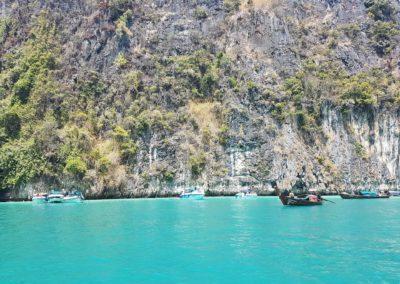 Modrá laguna na Phi Phi Islands