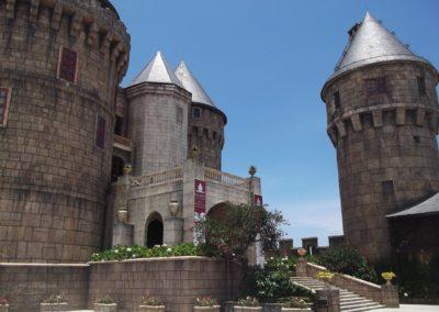 Replika francouzské pevnosti v Bana Hills