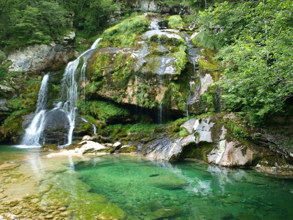 Vodopád Virje, Slovinsko