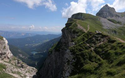 Výstup na Mangart: Ferraty Via Slovenia a Via Italiana na třetí nejvyšší horu Slovinska