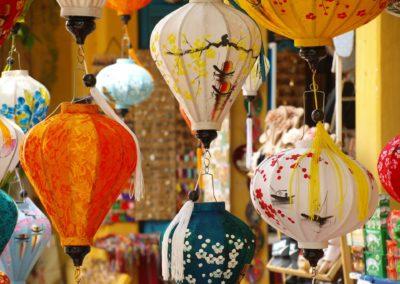 Lampióny na každém rohu v Hoi An