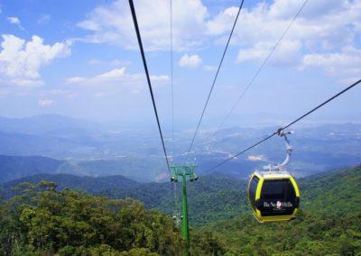 Lanovka na Bana Hills (zdroj: Wikimedia Commons)
