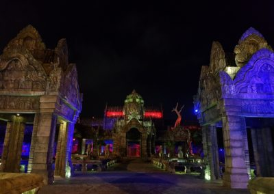 Strašidelný hrad v Da Nang Wonders