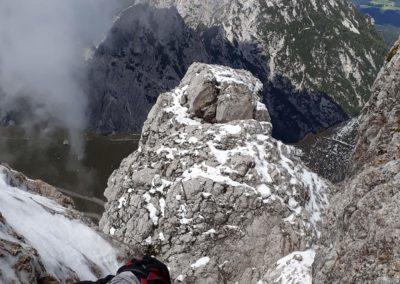 Ferrata Via Slovenia pod sněhem