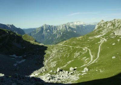 Nejvýše položená silnice ve Slovinsku