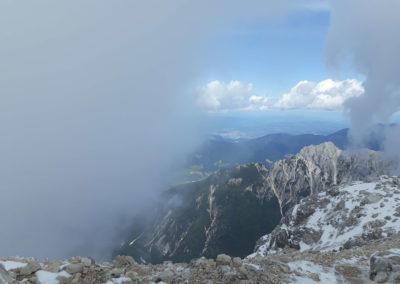 Zasloužené výhledy z vrcholku